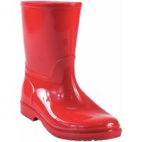 Chaussures Garçon Bottes de pluie Kelara Boy  bottes  k01117 rouge Rouge