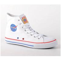 Chaussures Garçon Baskets montantes Nasa Baskets montantes enfants  blanc Blanc