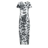 Vêtements Femme Robes longues Yurban OVIZ Gris / Blanc