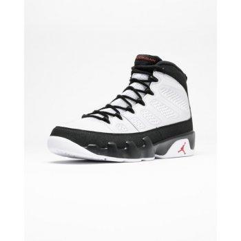 Chaussures Baskets montantes Nike Air Jordan 9 Space Jam White/Black-True Red