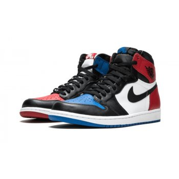 Chaussures Baskets montantes Nike Air Jordan 1 High Top 3 Gold Black Black/White-Black-Varsity Royal-Black