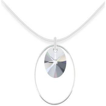 Montres & Bijoux Femme Colliers / Sautoirs Sc Crystal BS2655-SN027-IRIS Argenté