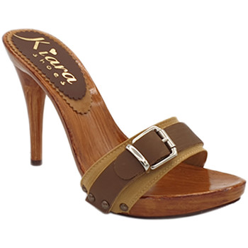 Chaussures Femme Sabots My Clogs MY744 Ocre