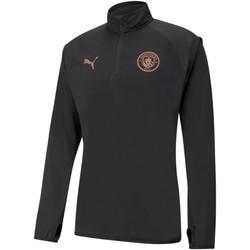 Vêtements Homme Sweats Puma Sweat Manchester City Warmup noir/rose brillant