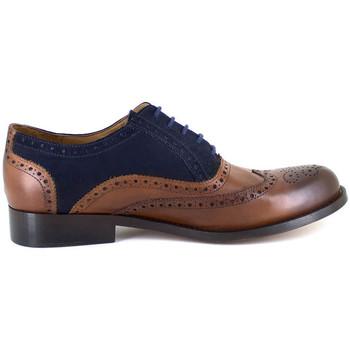 Chaussures Homme Richelieu J.bradford JB-SIR CAMEL BLEU Marron