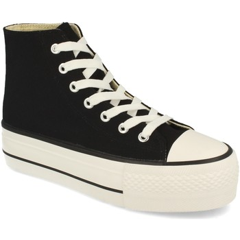 Chaussures Femme Baskets montantes Tony.p ABX012 Negro