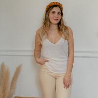 Vêtements Femme Débardeurs / T-shirts sans manche Céleste INSEPARABLE Ecru