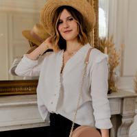 Vêtements Femme Tops / Blouses Céleste ZEPHYR Blanc