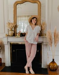 Vêtements Femme Tops / Blouses Céleste MESANGE Blanc