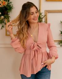 Vêtements Femme Tops / Blouses Céleste ROSSIGNOL Rose