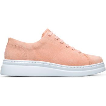 Chaussures Femme Baskets basses Camper Baskets cuir RUNNER UP rose