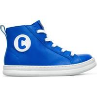 Chaussures Enfant Baskets montantes Camper Baskets cuir RUNNER FOUR bleu