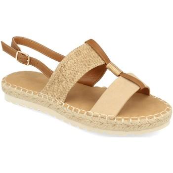 Chaussures Femme Sandales et Nu-pieds Buonarotti 1FB-1075 Beige