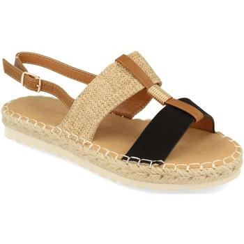 Chaussures Femme Sandales et Nu-pieds Buonarotti 1FB-1075 Negro