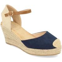 Chaussures Femme Espadrilles Buonarotti 1GK-1077 Marino