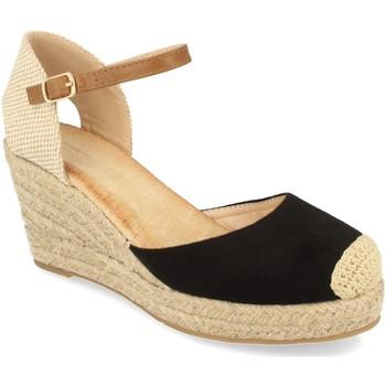 Chaussures Femme Espadrilles Buonarotti 1GK-1077 Negro