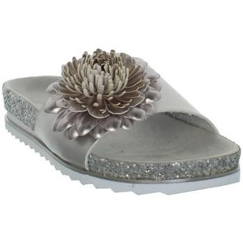 Chaussures Femme Claquettes Bugatti Sandales  femmes ref_bug43439 Argent Argenté