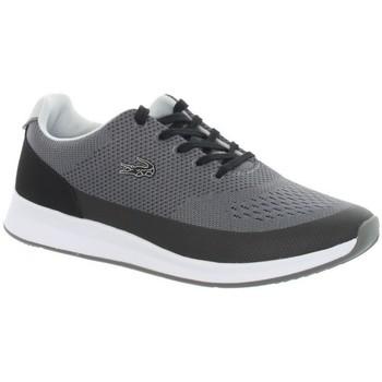 Chaussures Femme Baskets basses Lacoste Baskets femme  ref_45121 Black/Dark grey Gris et Noir