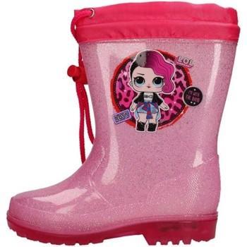 Chaussures Garçon Baskets mode Easy Shoes - Stivale rosa LOP9418-06 ROSA