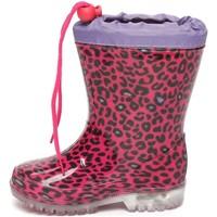 Chaussures Garçon Baskets mode Easy Shoes - Stivale fuxia LOP9419-30 FUXIA
