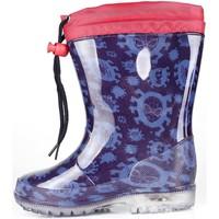 Chaussures Garçon Baskets mode Easy Shoes - Stivale blu SPP7256-02 BLU