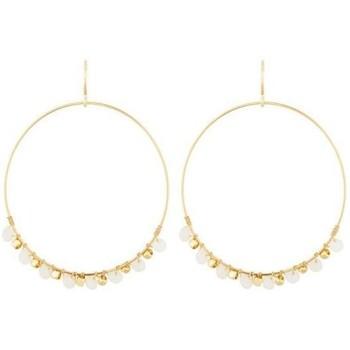 Montres & Bijoux Femme Boucles d'oreilles Mes-Bijoux.fr Boucles d'oreilles doré et perles Doré