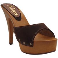 Chaussures Femme Sabots Kiara Shoes K93001 Marron