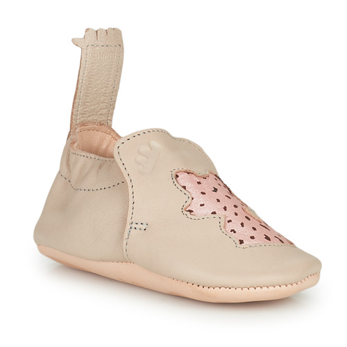 Chaussures Enfant Chaussons Easy Peasy BLUMOO RENARD MOU SAND SHELL MOU/CUIR