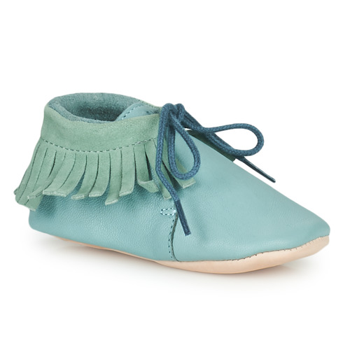 Chaussures Enfant Chaussons Easy Peasy MEXIMOO MOU HARBOR GREY MOU/CUIR