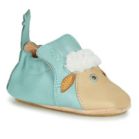 Chaussures Enfant Chaussons Easy Peasy BLUBLU MOUTON MOU MIST MOU/PATIN