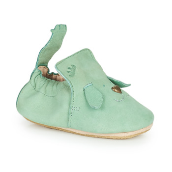 Chaussures Enfant Chaussons Easy Peasy BLUBLU CHIEN MOU HARBOR GREY MOU/PATIN