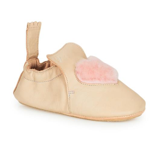Chaussures Enfant Chaussons Easy Peasy BLUBLU COEUR Beige
