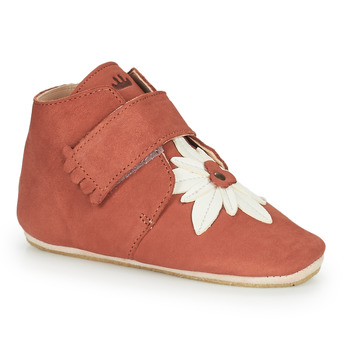 Chaussures Fille Chaussons Easy Peasy KINY EDELWEISS Rose