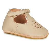 Chaussures Enfant Chaussons Easy Peasy LILLYP MOU SAND SHELL MOU/PATIN