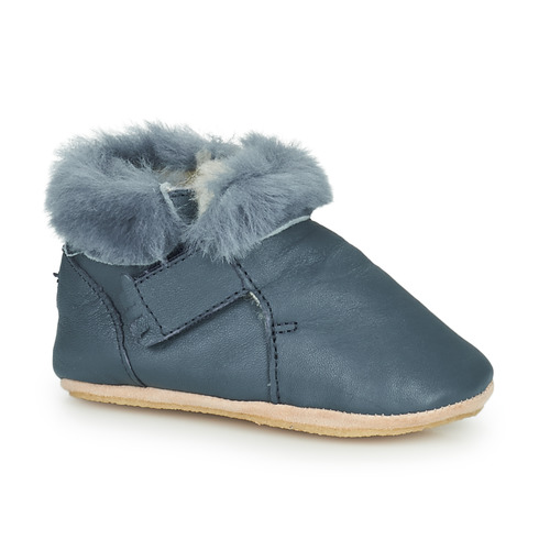 Chaussures Enfant Chaussons Easy Peasy FOUBLU Bleu
