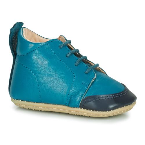 Chaussures Enfant Chaussons Easy Peasy IGO B MOU LYON BLUE MOU/PRE-MARCHE