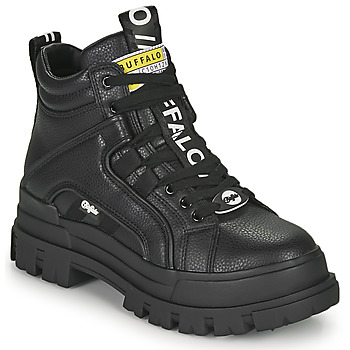 Chaussures Femme Boots Buffalo ASPHA NC MID Noir