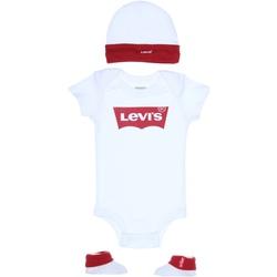 Vêtements Garçon Ensembles enfant Levi's Ensemble Bébé logotypé Blanc