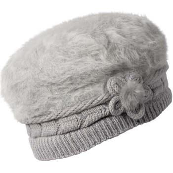 Accessoires textile Femme Chapeaux Chapeau-Tendance Béret doux MADISON gris