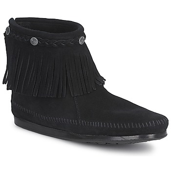 Minnetonka Marque Boots  Hi Top Back Zip...