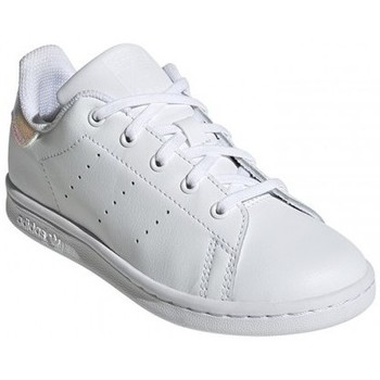 Chaussures Enfant Tennis adidas Originals STAN SMITH C / BLANC Blanc