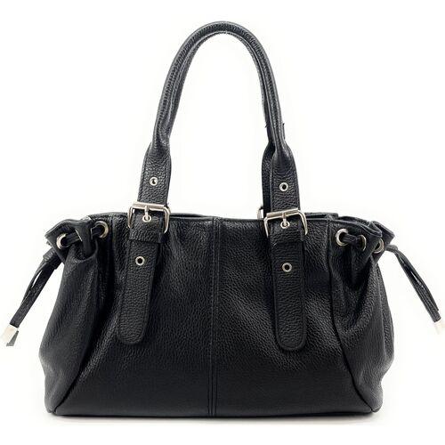 Sacs Femme Sacs porté main Oh My Bag Sac à Main CUIR femme - Modèle Princesse noir NOIR