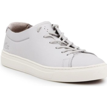 Chaussures Femme Baskets basses Lacoste L 12 12 Unlined 118 2 Caw Gris