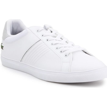 Chaussures Homme Baskets basses Lacoste 733CAM1049001 Blanc