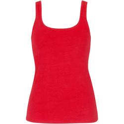 Vêtements Femme Débardeurs / T-shirts sans manche Lisca Débardeur Happyday corail  Cheek Corail