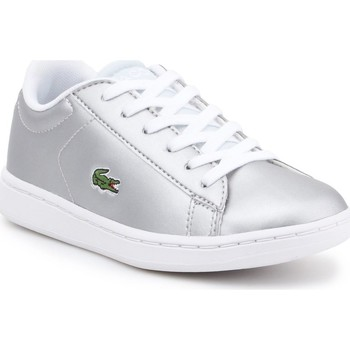 Chaussures Enfant Baskets basses Lacoste 734SPC0006334 Argent