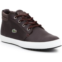 Chaussures Femme Boots Lacoste Apmthill Terra Hhi Spw Marron