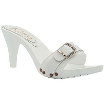 Chaussures Femme Sabots My Clogs MY6444 Blanc