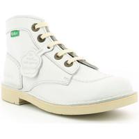 Chaussures Enfant Boots Kickers Kick Col BLANC