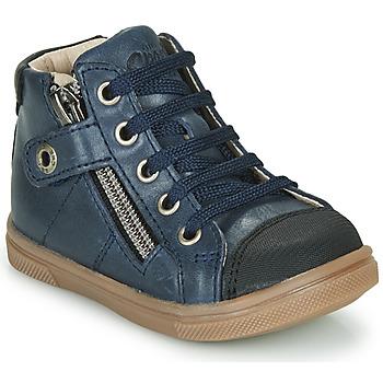 Chaussures Garçon Baskets montantes GBB KAMIL Bleu